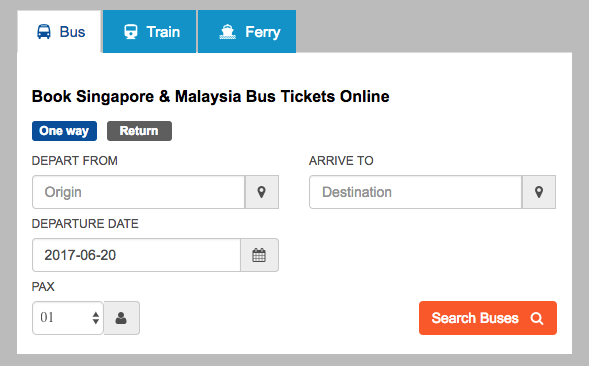 bus ticket online malaysia