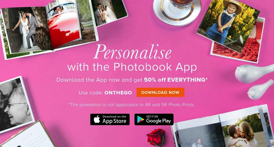 Photobook Philippines Voucher Code June