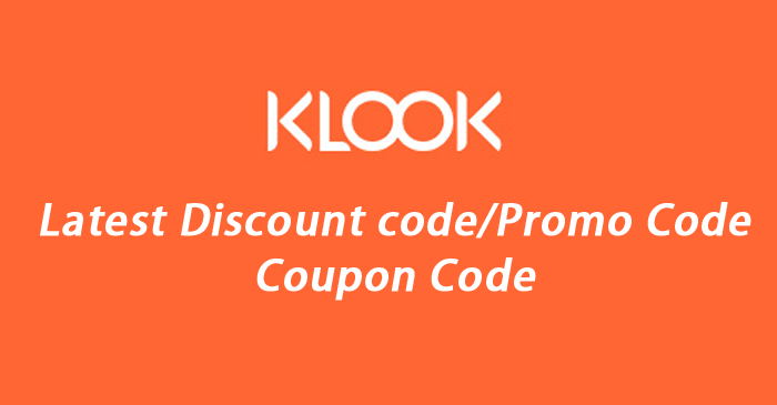 klook coupon code